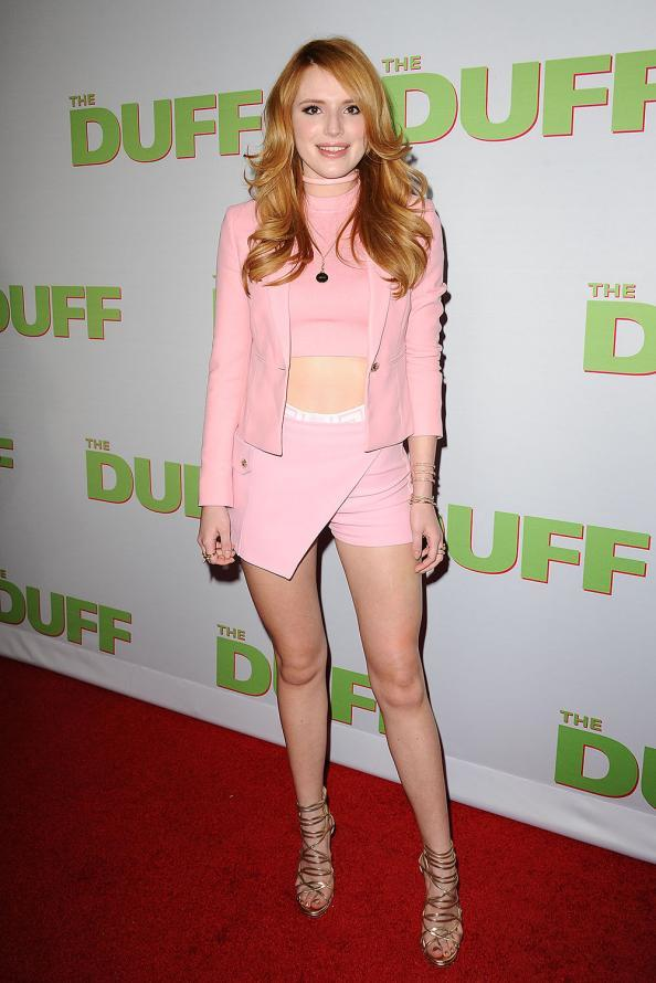 Bella Thorne height weight