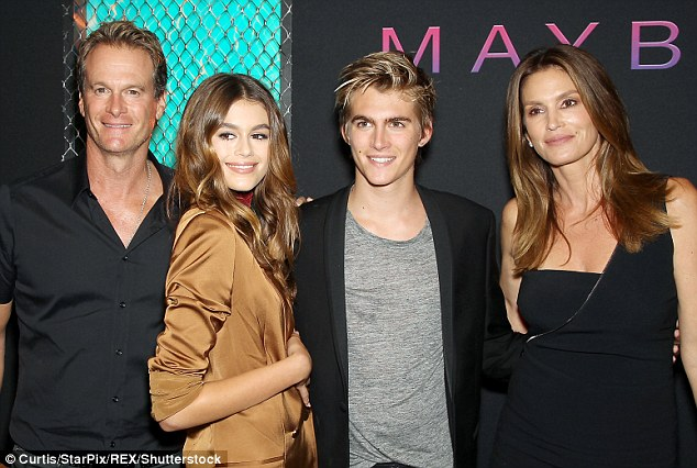 Kaia Gerber Family