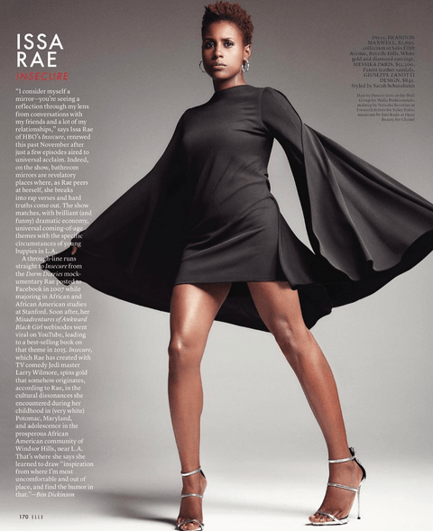 Issa Rae height weight