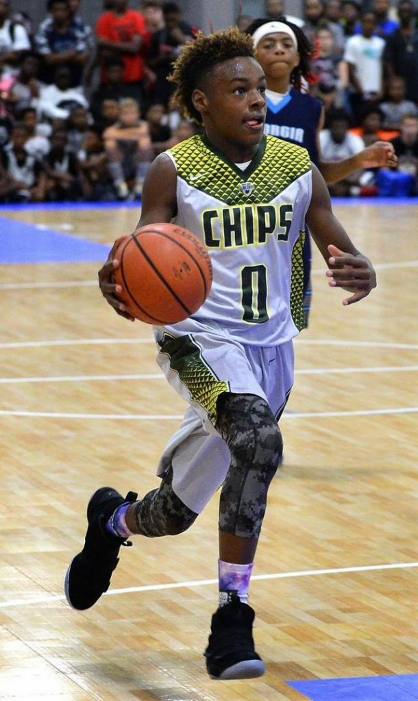 LeBron James Jr. height weight